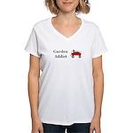 Garden Addict Women's V-Neck T-Shirt