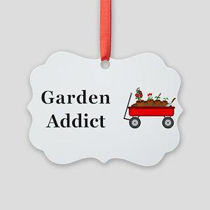 Garden Addict Picture Ornament