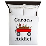 Garden Addict Queen Duvet