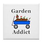Garden Addict Tile Coaster