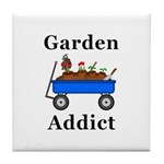 Garden Addict Tile Coaster
