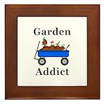 Garden Addict Framed Tile