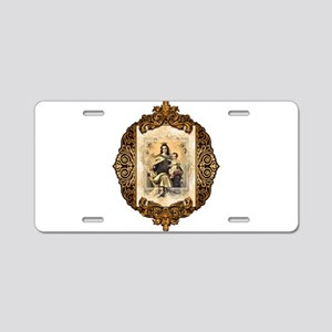 OLMtC-medallion Aluminum License Plate
