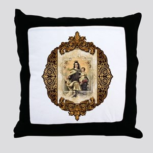 OLMtC-medallion Throw Pillow
