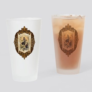 OLMtC-medallion Drinking Glass