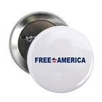 """Free America 2.25"""" Button (100 pack)"""