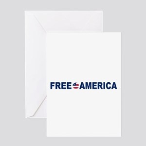 Free America Greeting Card