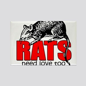 ratsneedlovetoo Magnets
