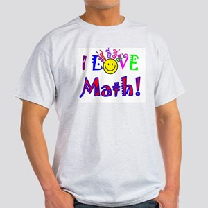 I Love Math! T-Shirt