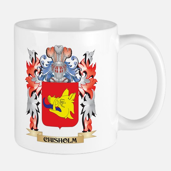 Chisholm Coat of Arms - Family Crest Mugs