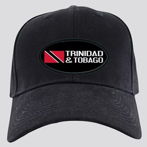 Trinidad & Tobago Flag Black Cap