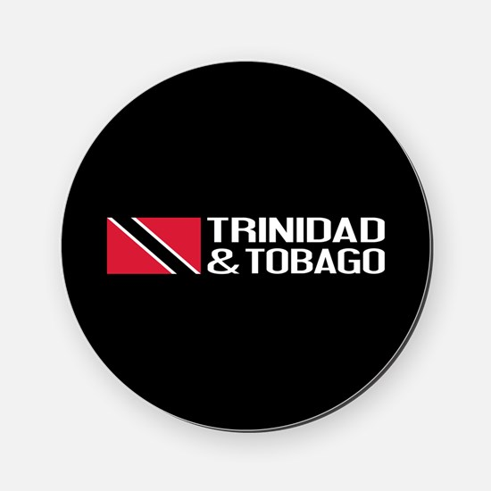 Trinidad & Tobago Flag Cork Coaster