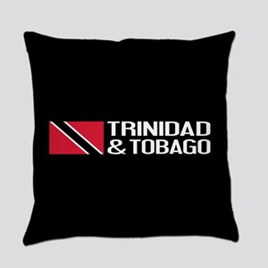 Trinidad & Tobago Flag Everyday Pillow