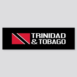 Trinidad & Tobago Flag Sticker (Bumper)