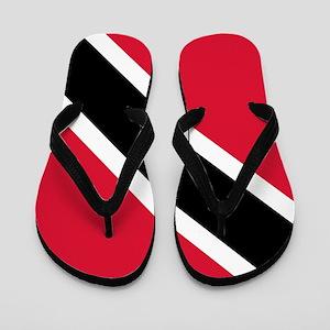 Trinidad & Tobago Flag Flip Flops