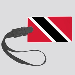 Trinidad & Tobago Flag Large Luggage Tag