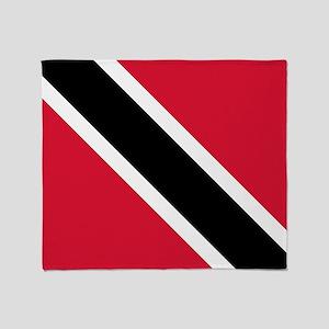 Trinidad & Tobago Flag Throw Blanket
