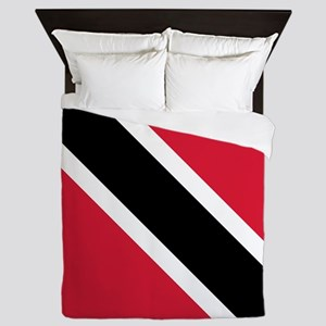 Trinidad & Tobago Flag Queen Duvet