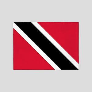Trinidad & Tobago Flag 5'x7'Area Rug