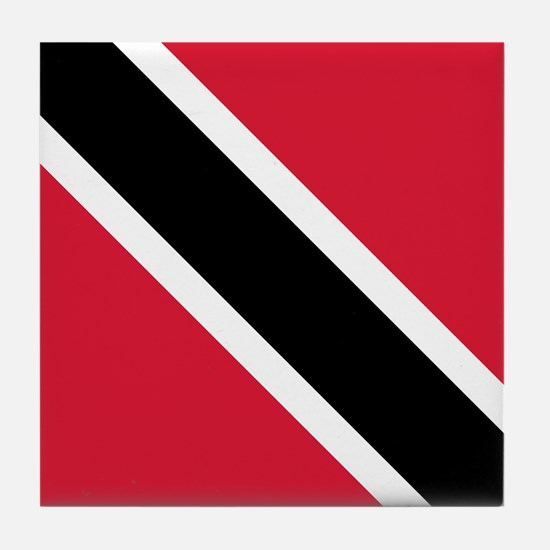 Trinidad & Tobago Flag Tile Coaster