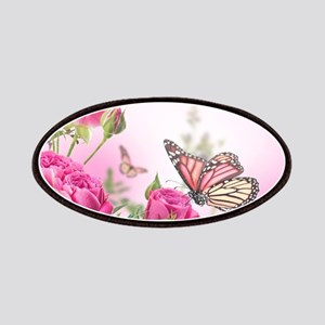 Butterfly Flowers Patch