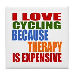 I Love Cycling Coasters Cafepress