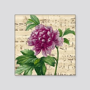Beautiful Pink Peony Sticker