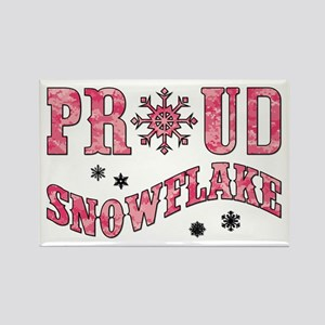 PROUD SNOWFLAKE Magnets