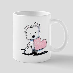 KiniArt Westie Warm Fuzzy Mug