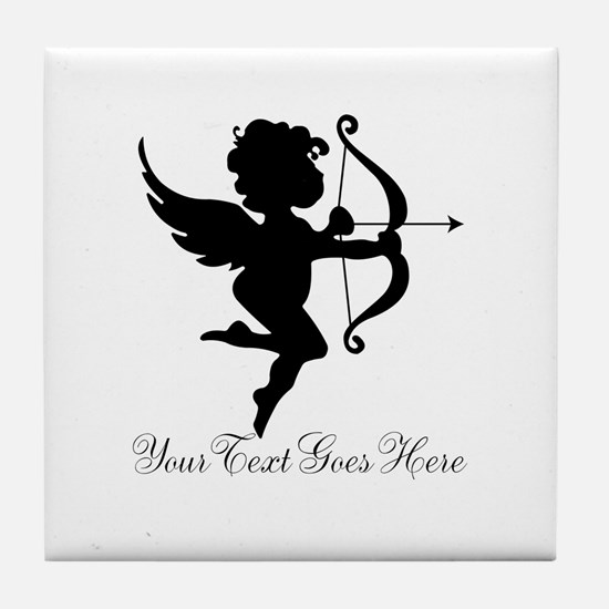 Valentines Day Gifts Cupid Tile Coaster