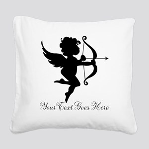Valentines Day Gifts Cupid Square Canvas Pillow