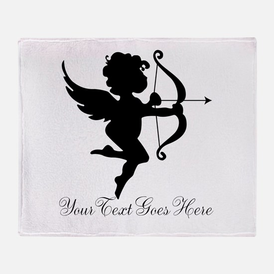 Valentines Day Gifts Cupid Throw Blanket