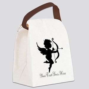 Valentines Day Gifts Cupid Canvas Lunch Bag