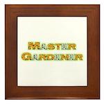 Master Gardner Framed Tile