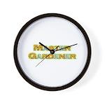Master Gardner Wall Clock