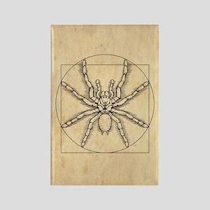 Vitruvian Arachnid Rectangle Magnet