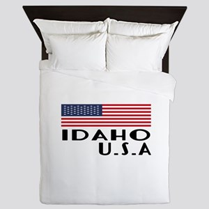 Idaho U.S.A State Designs Queen Duvet