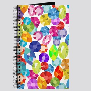 rainbow rhinestones Journal