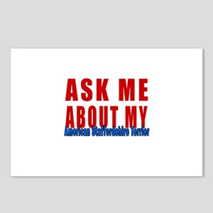 Ask Me About My American Postcards (Package of 8)