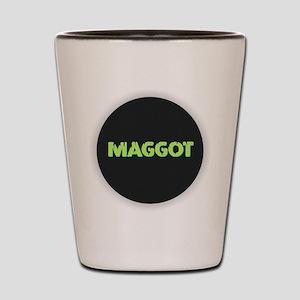 Maggot Shot Glass