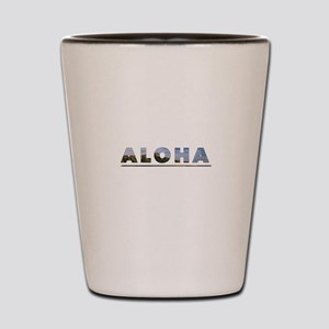 Aloha+Diamond Head Shot Glass