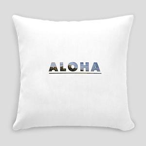 Aloha+Diamond Head Everyday Pillow