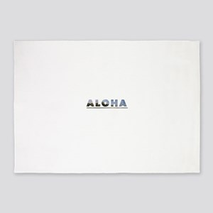 Aloha+Diamond Head 5'x7'Area Rug