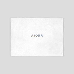 Aloha+Diamond Head 5'x7'Area Rug