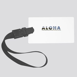 Aloha+Diamond Head Luggage Tag