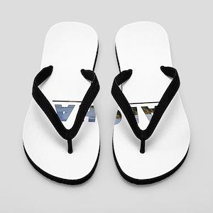 Aloha+Diamond Head Flip Flops
