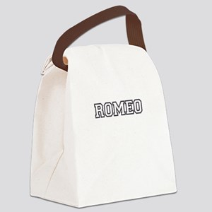 Romeo and juliet Canvas Lunch Bag
