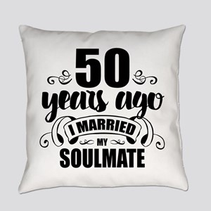 50th Anniversary Everyday Pillow