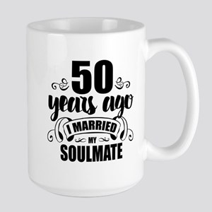 50th Anniversary Large Mug
