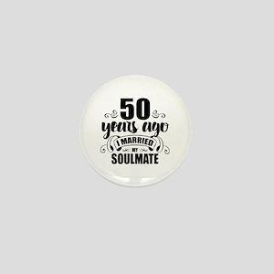 50th Anniversary Mini Button